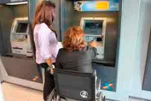Atendimento à Portadores de Deficiências Especiais para Banco
