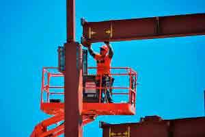 Montador de estrutura metálica